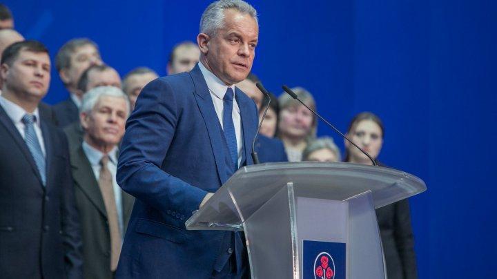 Vlad Plahotniuc a dat start campaniei electorale şi are planuri măreţe: Locuri de muncă, apeducte şi alimentare cu gaze  în raionul Nisporeni