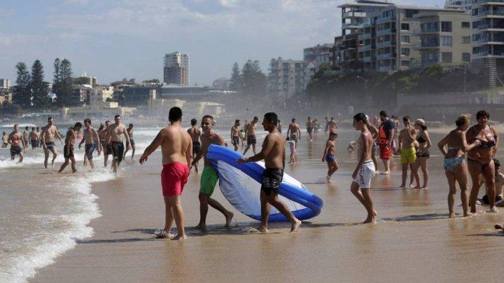 Australienii au trecut prin cea mai caniculară noapte: 20 de zile cu temperaturi de peste 40 de grade