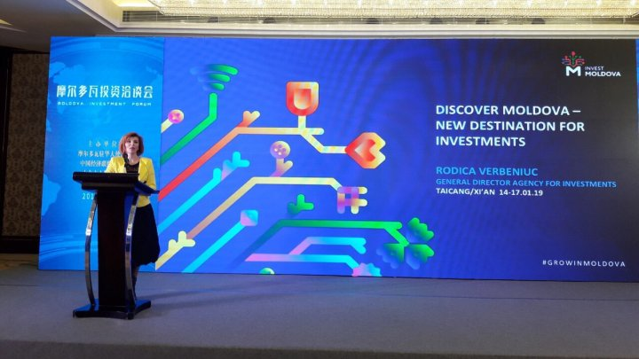 Republica Moldova și-a prezentat oportunitățile de investiţii în Republica Populară Chineză