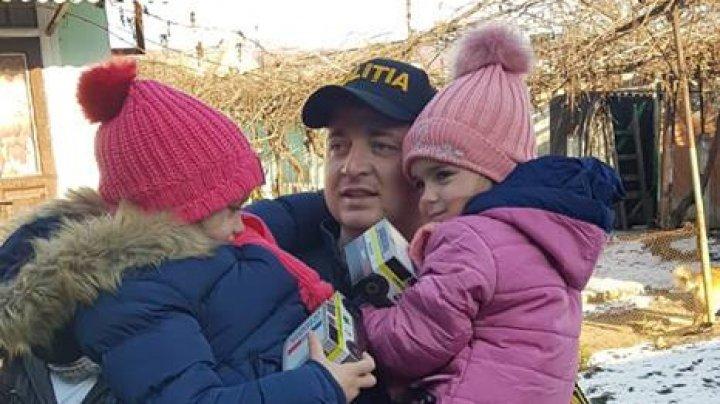 CARAVANA DE CRĂCIUN A POLIŢIEI. 1.500 de copii din toată ţară s-au bucurat de daruri