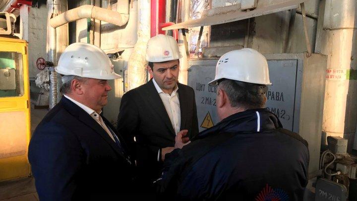 Chiril Gaburici: Apreciez performanțele înregistrate de Termoelectrica și sper ca în următorii ani să avem tot mai multe blocuri conectate la noul sistem de termoficare