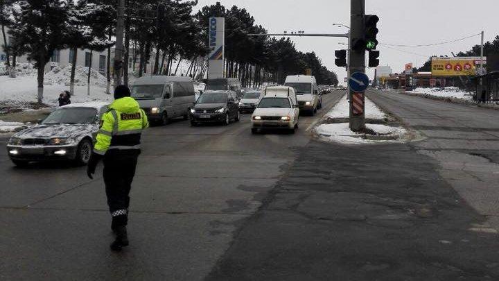 ADIO AMBUTEIAJE: Care sunt intersecţiile care au fost suplinite cu agenţi de patrulare