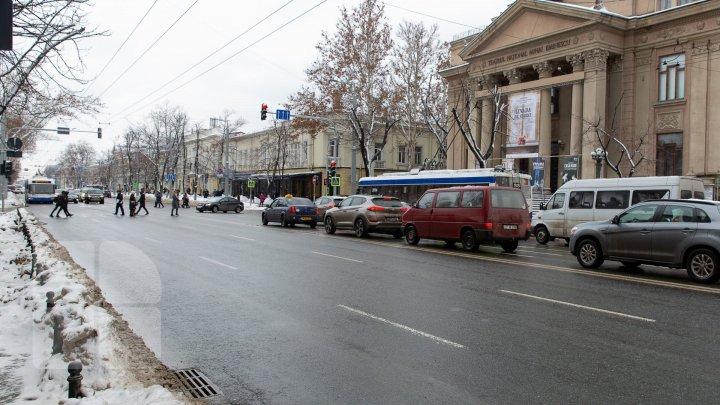 Cum se circulă la această oră pe străzile din Capitală