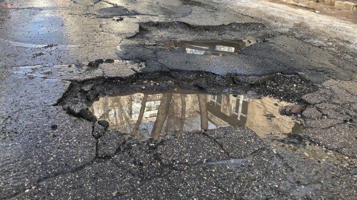 Gaburici: Traseul Chișinău-Leușeni este o prioritate pentru noi și trebuie reabilitat de urgență, dar până atunci să fie întreținut corespunzător