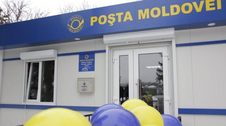 Un nou Oficiu Poştal a fost deschis la Corlăteni, Râşcani. Cum arată sediul Poştei Moldovei