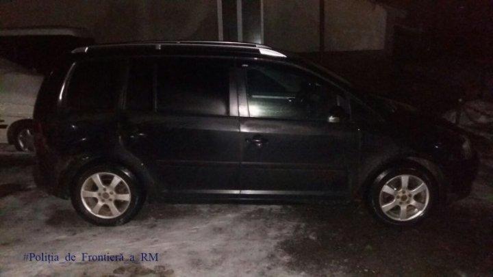 Un ucrainean a rămas fără maşină. A vrut să traverseze frontiera neregulamentar