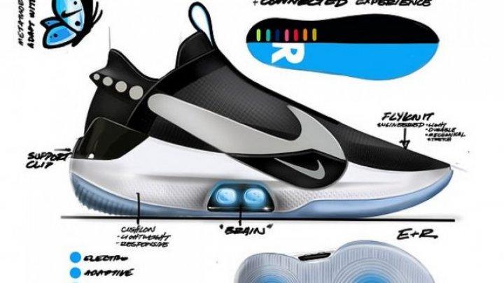 Nike lansează adidaşii viitorului, care pot fi controlaţi cu ajutorul smartphone-ului