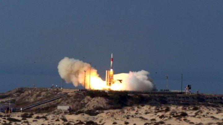 SUA şi Israelul au testat un sistem antirachetă capabil să distrugă ţinte balistice în afara atmosferei
