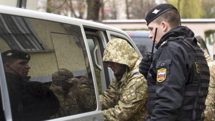 Militarii ucraineni arestaţi în Rusia ar putea fi eliberaţi