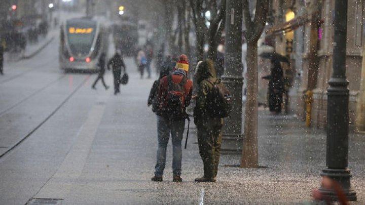 FENOMEN RAR: Ninge la Ierusalim (IMAGINI SPECTACULOASE)