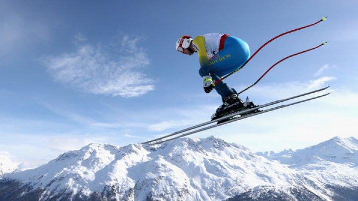 Alexander Koell s-a prăbuşit pe traseu în proba de coborâre la Cupa Mondială de schi alpin