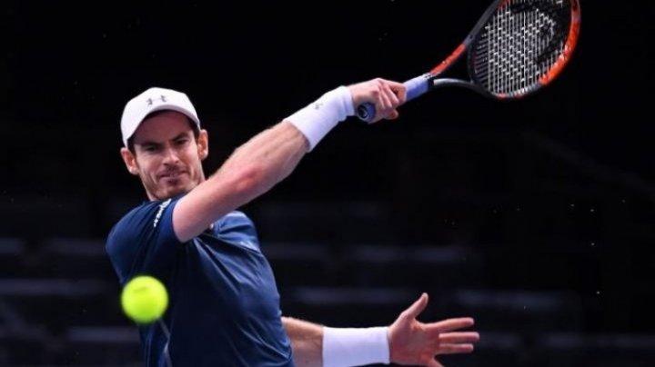 Tenismanul Andy Murray a renunţat la turneul de la Marsilia din luna februarie