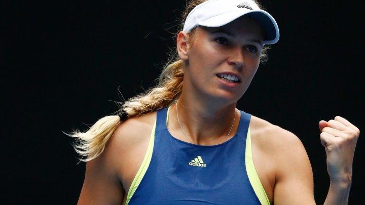 Caroline Wozniacki a abandonat în primul tur la Roma