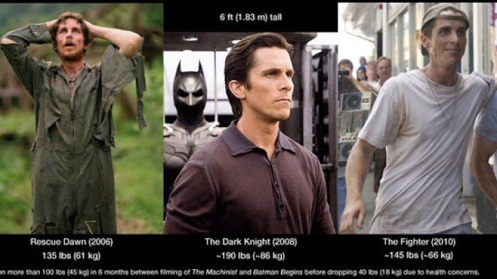 Christian Bale şi schimbările sale fizice: Nu pot continua să fac asta. Chiar nu mai pot. Moartea m-a privit în faţă (FOTO)