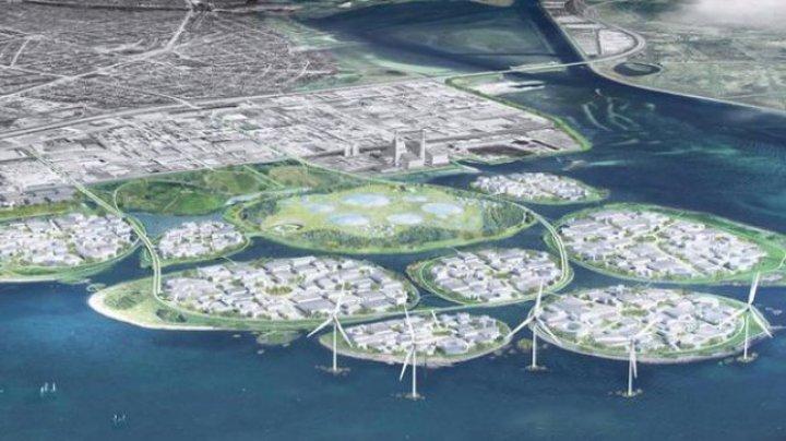 Idei din filme Sci-fi, realizate. Danemarca va construi NOUĂ INSULE artificiale în Copenhaga