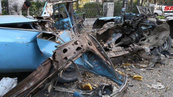 ATAC TERORIST în apropierea ambasadei Rusiei din Damasc. A explodat o bombă