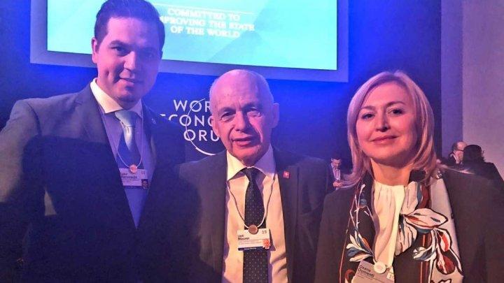 Ministrul Tudor Ulianovschi s-a întâlnit cu Preşedintele Elveției la Forumul Economic Mondial de la Davos