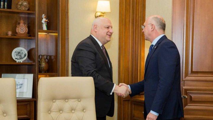 Premierul Pavel Filip s-a întâlnit cu Președintele Adunării Parlamentare OSCE, George Tsereteli