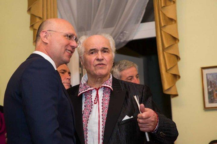 Pavel Filip, la serata de creație a maestrului Eugen Doga: Sunt un consumator de cultură și îi respect foarte mult pe cei care o creează