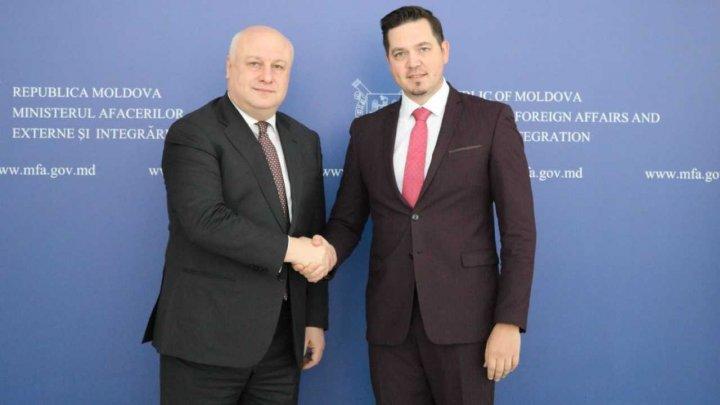 Tudor Ulianovschi s-a întâlnit cu Preşedintele Adunării Parlamentare OSCE. Ce au discutat oficialii