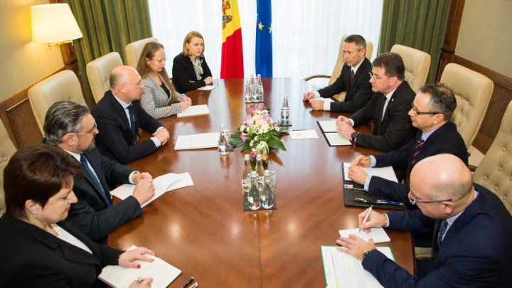 Președintele în exercițiu al OSCE, în dialog cu Pavel Filip: Apreciem progresele autorităților şi consolidarea încrederii dintre cele două maluri ale Nistrului