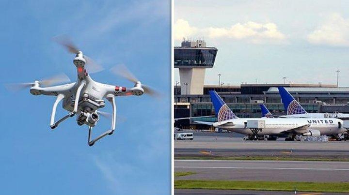 Spaţiul aerian al unui aeroport din New York a fost perturbat de o dronă