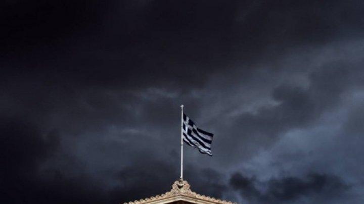 Fenomene meteo extreme în Grecia: Furtuni cu lapoviţă, ninsoare şi vânt puternic