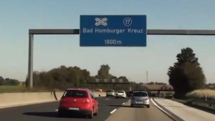 SPRIJIN DIVIN pentru limitarea vitezei în Germania
