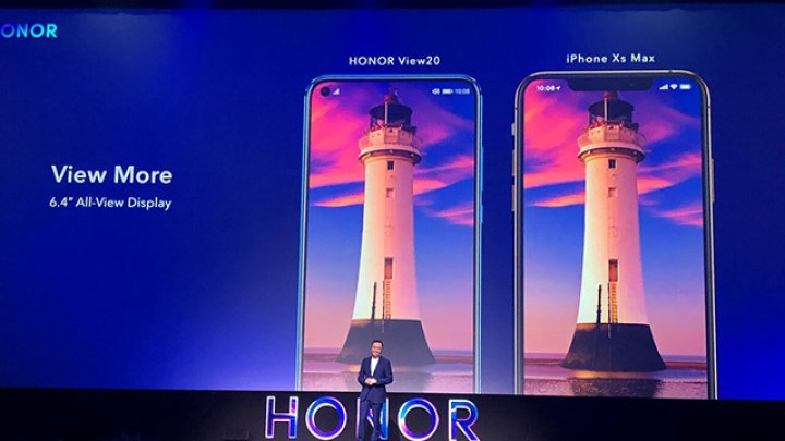 Huawei a dezvăluit HONOR View20, un smartphone echipat cu cameră foto de 48MP