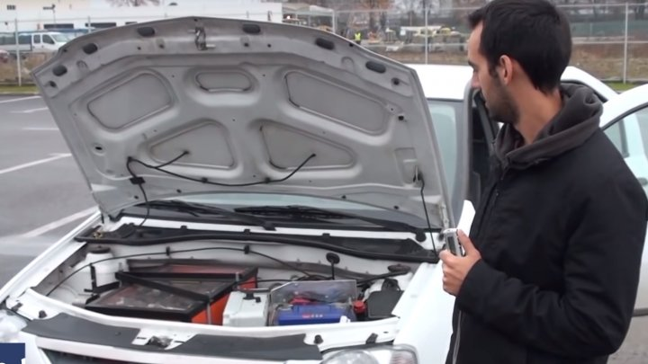 Un francez a construit primul LOGAN electric. Consumul acestuia te va amuza (VIDEO)