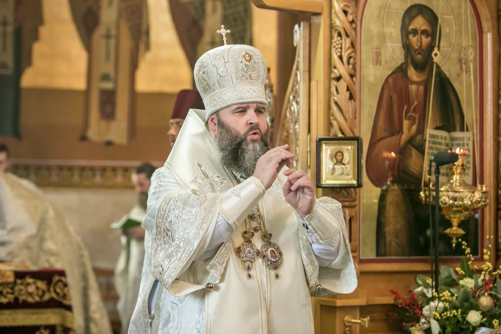Slujba de Crăciun de la Mănăstirea Curchi. La eveniment a participat și președintele PDM, Vlad Plahotniuc