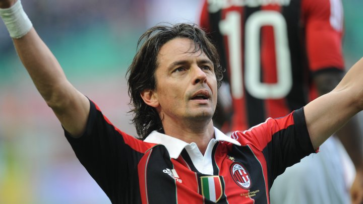 Filippo Inzaghi a fost demis din postul de antrenor al echipei Bologna