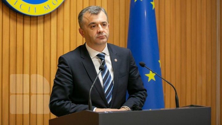 Ion Chicu a prezentat un raport privind situaţia financiară a ţării: Am transmis moştenirea pe care i-o las succesoarei mele