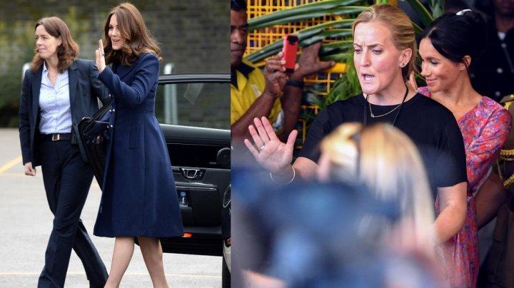 Ofiţerii ce asigură securitatea duceselor Katherine şi Meghan SUNT FEMEI. Decizie luată de socru