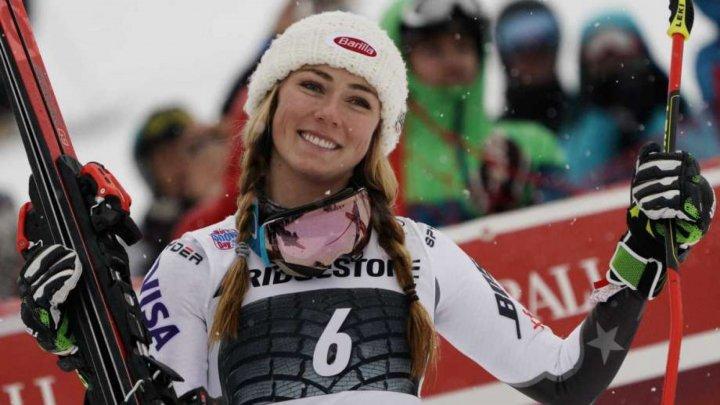 MIKAELA SHIFFRIN, DE NEOPRIT. Americanca a triumfat în proba de slalom super-uriaş