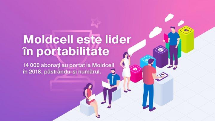 Moldcell este lider în portabilitate