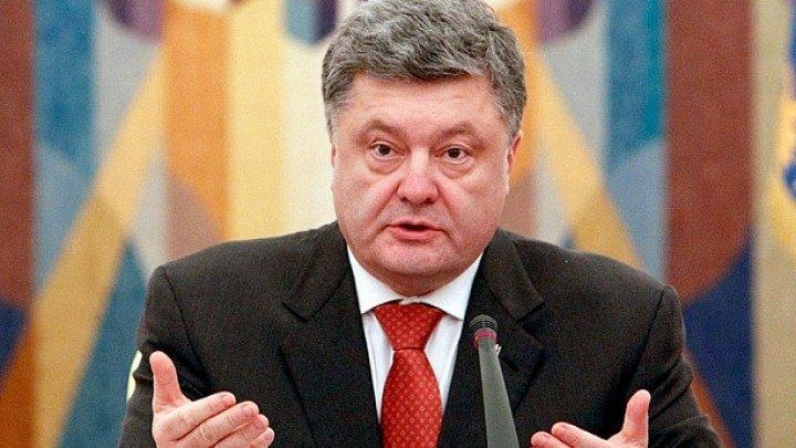 Petro Poroşenko şi-a anunţat candidatura pentru un al doilea mandat la alegerile prezidențiale