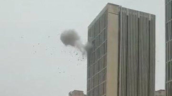 SERIE DE EXPLOZII într-un centru comercial din China: Sunt victime (VIDEO)