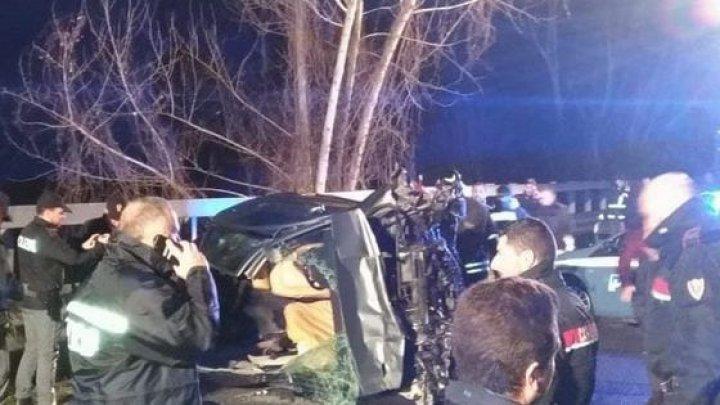 ACCIDENT CUMPLIT în Italia. Patru români au MURIT, în timp ce erau urmăriţi de poliţie (FOTO)