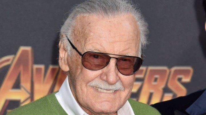 Stan Lee, creatorul mai multor supereroi de benzi desenate, omagiat la Hollywood