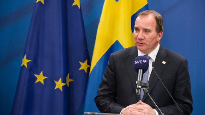 Stefan Lofven, reales în funcția de premier al Suediei