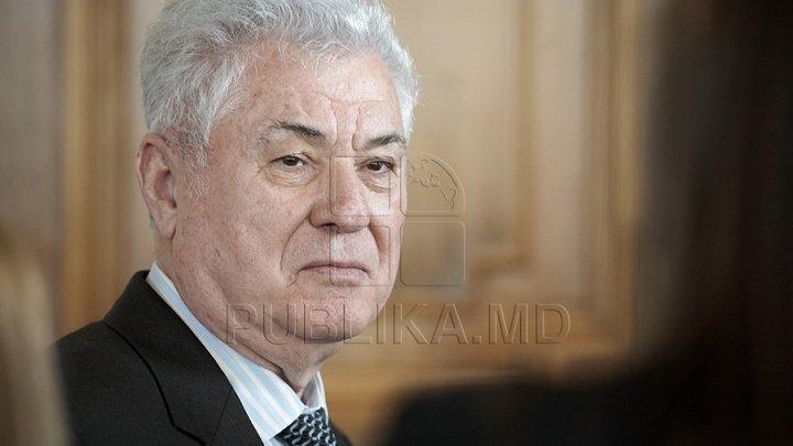 Vladimir Voronin confirmă că a dispus demiterea lui Victor Ţopa din funcţia de ministru al Transporturilor
