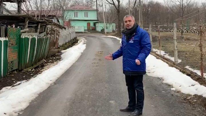 Sergiu Sîrbu din satul Maiei Sandu: Drumuri noi finalizate, apeduct și stație de epurare date deja ȋn exploatare (VIDEO)