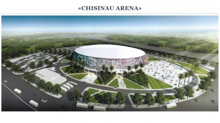 La ce etapă sunt lucrările de construcţie a Arenei Chişinău