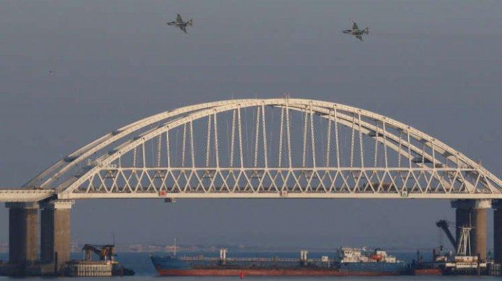 UE va sancționa opt ruşi pentru incidentele în Marea Azov