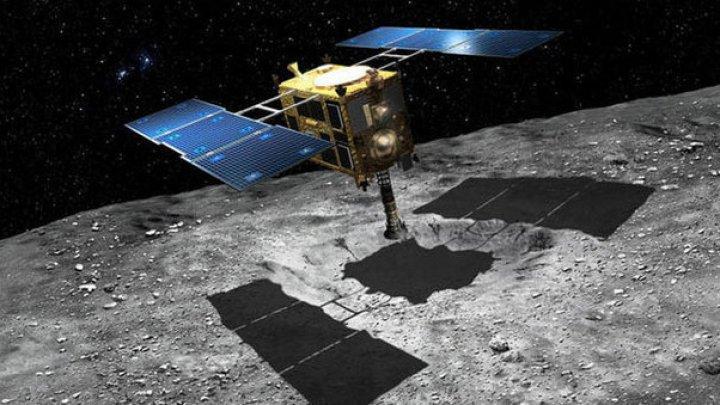 Sonda Hayabusa-2 a reuşit să recolteze un eşantion de materie de pe asteroidul Ryugu