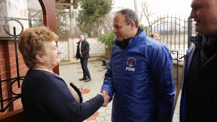 Caravana PDM a ajuns la Telenești. Va fi construit un parc industrial care va crea locuri de muncă acasă