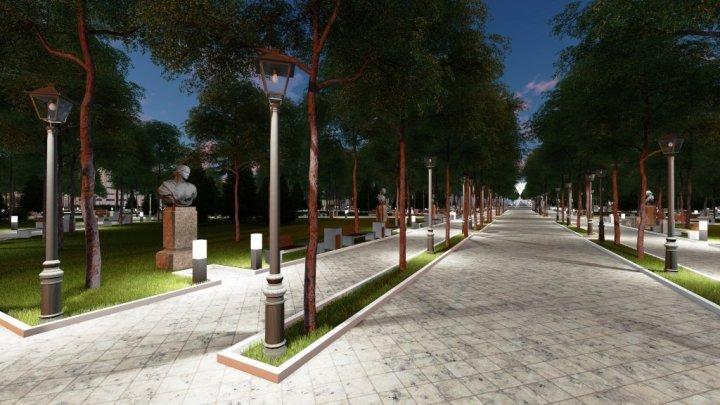 Grădina Publică Ştefan cel Mare va prinde un SUFLU EUROPEAN. Cum va arăta