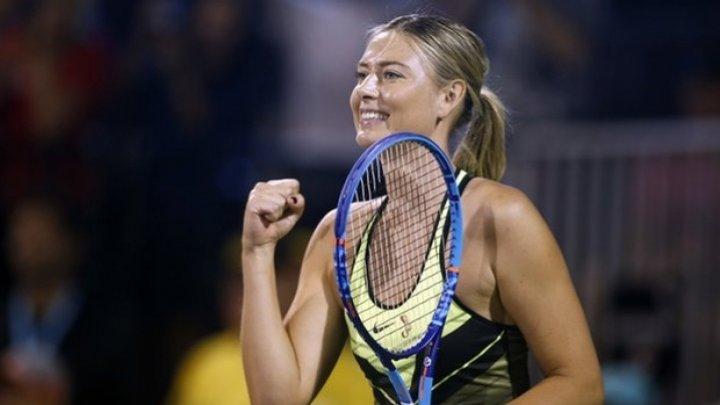 Jucătoarea rusă de tenis Maria Şarapova a declarat forfait pentru turneul de la Indian Wells