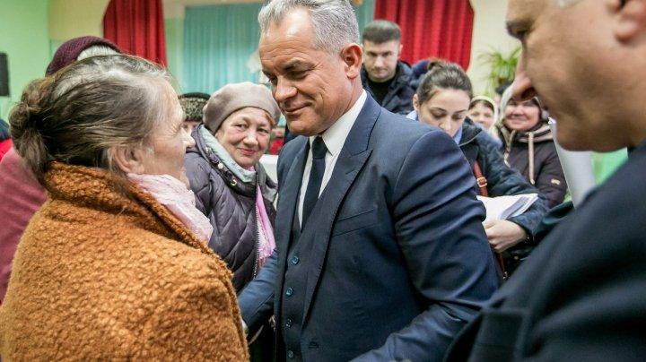 Vlad Plahotniuc în vizită la Iurceni, Zberoaia și Vărzăreşti. Dezvoltarea satelor, o prioritate pentru PDM